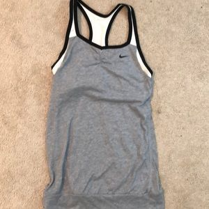Nike Dri - Fit halter back tank top